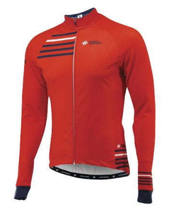 Fleece Jacket RED 2018 03