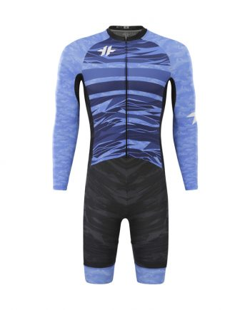 Long Sleeve Race Day Suit Shark Blue MEN front