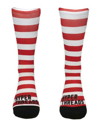 Stripe Red White front