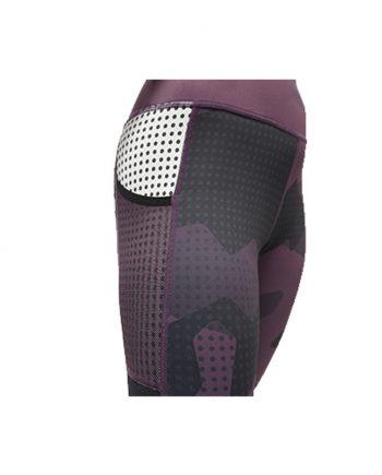 Sublimated run tights 1
